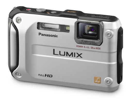 Panasonic Lumix DMC-TS3 12.1 MP Rugged/Waterproof Digital Camera with 4.6x Wide Angle Optical Image Stabilized Zoom and 2.7-Inch LCD (Silver)