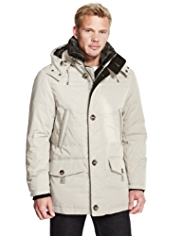 Blue Harbour Water Repellent Down Filled Hooded Parka