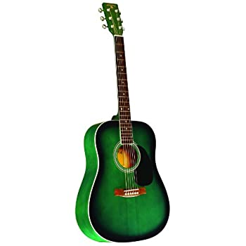 INDIANA Scout Deluxe S-SCOUT-GR Acoustic Guitar - Green Sunburst best price