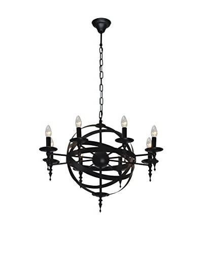 Licht Co. hanglamp Cage zwart