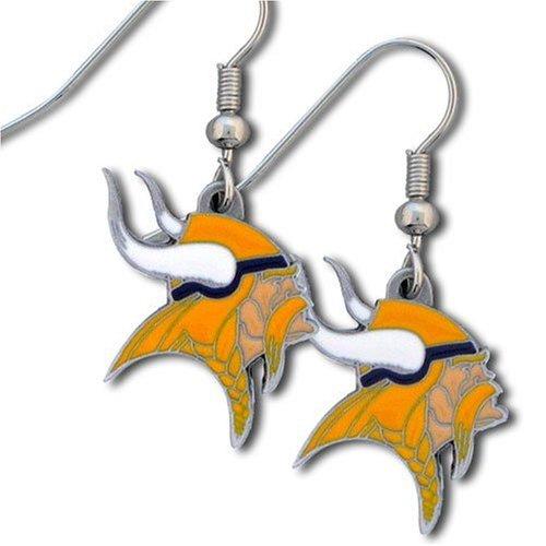 NFL Minnesota Vikings Dangle Earrings