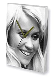 AGNETHA FALTSKOG - Canvas Clock (A4 - Signed by the Artist) #js002
