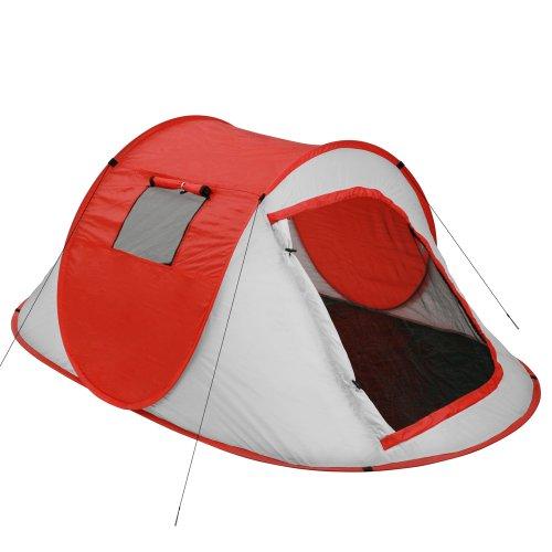 Jago-Wurfzelt-Camping-Zelt-Pop-Up-Zelt-Cherry-Tomato-fr-bis-zu-2-Personen