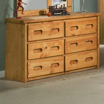 Natural Pine Dresser front-808499