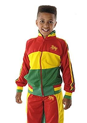 rasta4real CHILDRENS - LION OF JUDAH Jamaica Africa RASTA JACKET