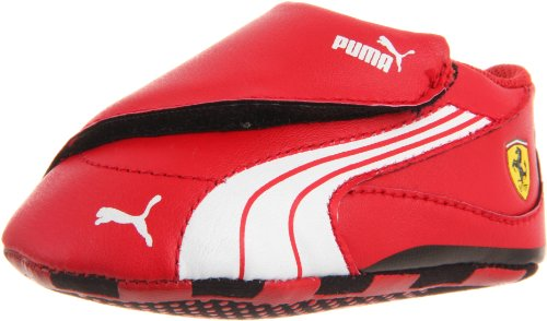 Puma Drift Cat 4 L SF Crib Shoe (Infant/Toddler),Rosso Corsa/White/Rosso Corsa,5 M US Toddler