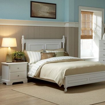 Homelegance Morelle 2 Piece Bedroom Set in White