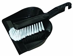 O-Cedar Commercial MaxiRough Dust Pan and Brush Combo