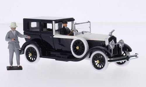 isotta-fraschini-8a-torpedo-fleetwood-black-light-beige-rhd-1925-model-car-ready-made-rio-143