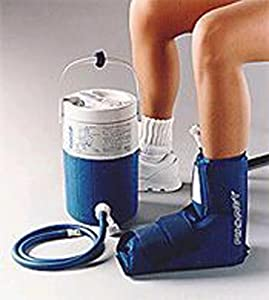 Aircast Cryo Cuff System-Ankle and Cooler by Hot & Cold Therapy