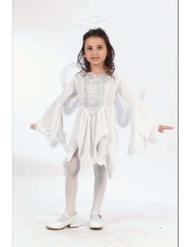 Baby-Toddler-Costume Angel Velour Toddler Costume 3T To 4T Halloween Costume
