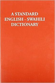 English Swahili Dictionary online