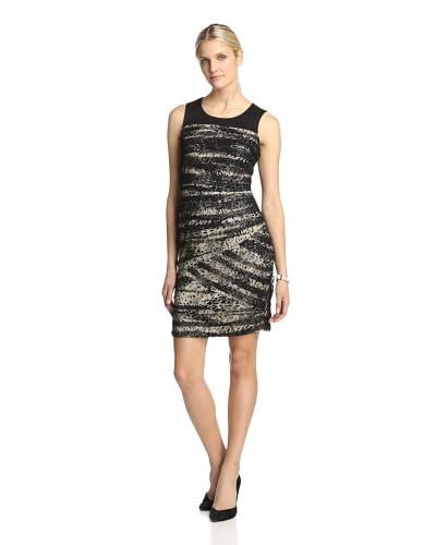 Julia Jordan Women's Burnout Mesh Dress