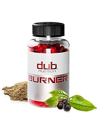 DUB BURNER Muscle Preserving Fat Burner, Chromium Picolinate, Raspberry Ketones, Green Tea Leaf Extract, Caralluma Fimbriata, Weight-Loss Supplement,Veggie Pills, For men and women