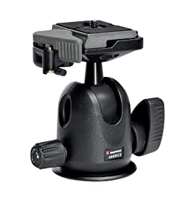 Manfrotto 496RC2 Ball Head with Quick Release Replaces Manfrotto 486RC2; manu. price = $89.88