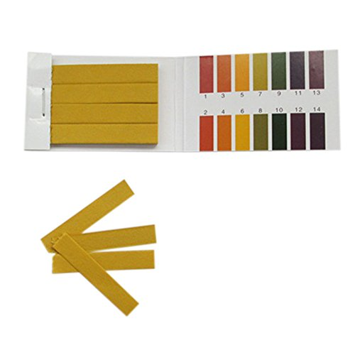 goldentrading alcaline 400x PH 1-14Strisce cartina di tornasole Test pH Urine saliva Indicatore di livello