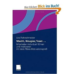 Macht, Neugier, Team ...: Mitarbeiter individuell führen und motivieren mit dem Reiss Motivationsprofil