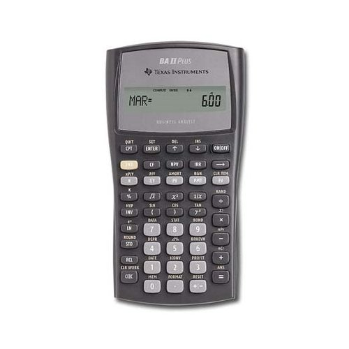 TEXBAIIPLUS - Texas Instruments BA-II Plus Adv. Financial Calculator (Ti Ii Plus compare prices)