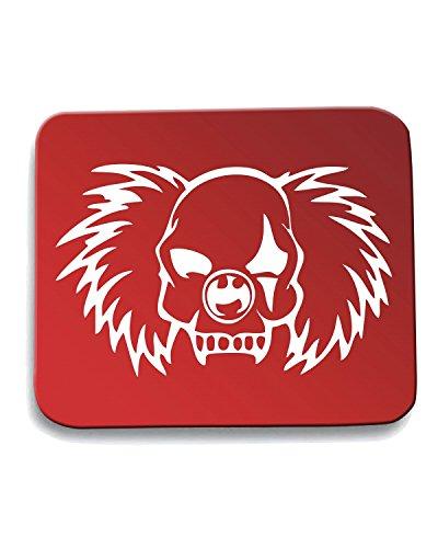 T-Shirtshock - Tappetino Mouse Pad FUN1022 clown vampire skull decal 32115, Taglia taglia unica