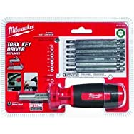 Milwaukee Elec.Tool 48-22-2103 10-in-1 Torx Multi-Bit Screwdriver