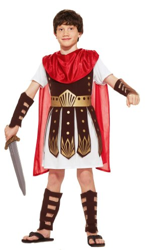 Kids Roman Warrior Costume - Child Small
