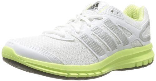 Adidas Performance Womens Duramo 6 W-1 Running Shoes D66481 Running White FTW/Metallic Silver/Glow 4 UK, 36.5 EU