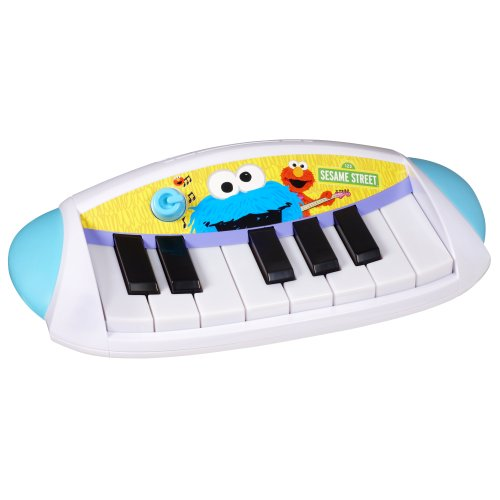 Playskool Sesame Street Let's Rock! Cookie Monster Keyboard - 1