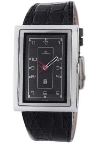Lorenz Men's 025922AA TB7 Big Rectangular Watch