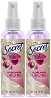 Secret Fresh Effects Body Mist-Fresh Water Orchid-3 oz