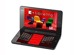 TOSHIBA libretto W100 ダブルスクリーンミニノートPC windows7搭載 7.0型ワイド PALW100MNG