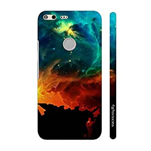 Enthopia Designer Hardshell Case Coloured sky Back Cover for Google Pixel