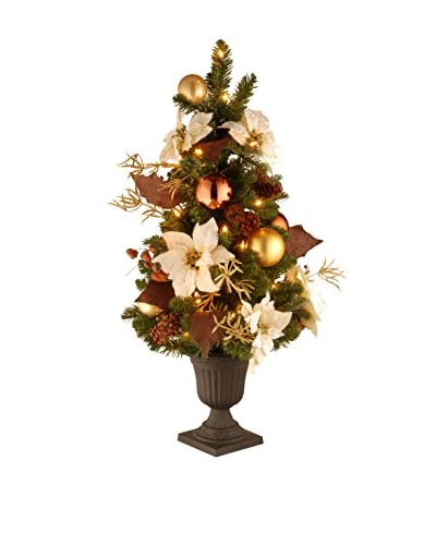 National Tree Company 3' Decorative Collection Inspired By Nature Entrance Tree