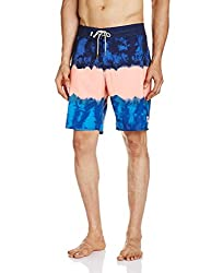VANS Men's Synthetic Shorts (8907222569341_VN00058RJ5T_34_Zine Red)