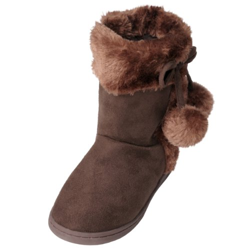 Journee Kids Girls Toggle Accent Boots