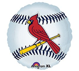 Anagram International Hx St Louis Cardinals Package Party Balloons, Multicolor