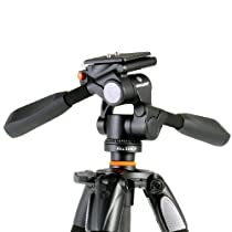 Vanguard Alta Plus 233AP 3-Section Aluminum Tripod with 3-way Magnesium Alloy Photo Panhead