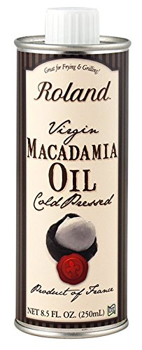 Roland Virgin Macadamia Oil, 8.5 Ounce