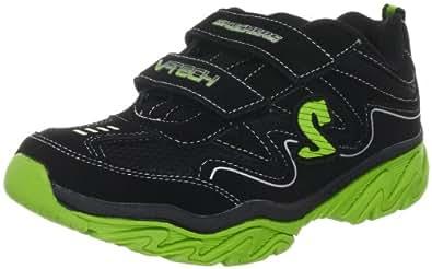 Skechers RaggedDox 95423L, Jungen Sneaker, Schwarz (BKLM), EU 28