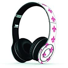 buy Neon Pink French Design Skin/Decal Compatible With Beats Wireless