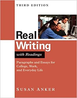 Real Writing Susan Anker 6th Edition PDF