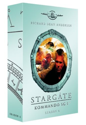 Stargate Kommando SG-1 - Season 6 Box (6 DVDs im Digipack)
