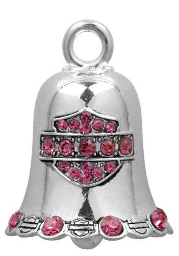 Harley Davidson® Pink Crystal Ride Bell. HRB019