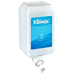 Kleenex Moisturizing Instant Hand Sanitizer (91562), Clear, Latex Compatible, 1.0 L Bottles 6 Units / Case