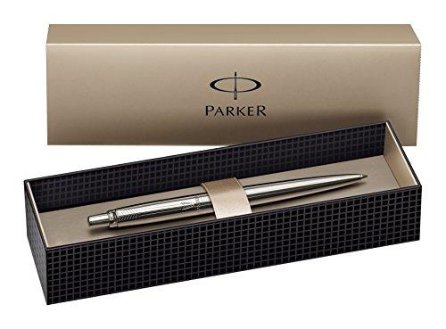 parker-s0705560-stylo-bille-jotter-acier-inoxydable-avec-attributs-chromes-encre-bleu-en-ecrin