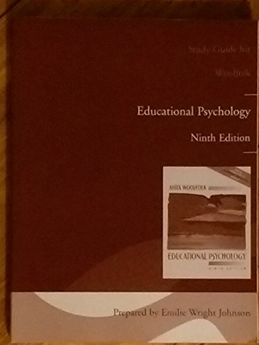 Educational Psychology: Study Guide