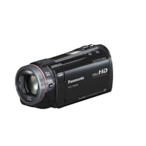 $599 Panasonic HDC-TM900K 3 MOS 3D Compatible Camcorder (32GB Internal Flash Memory)