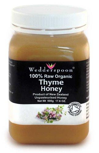 Wedderspoon Organic, Inc., 100% Raw Organic Thyme