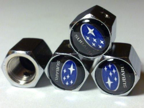 black-subaru-anti-theft-car-wheel-tire-valve-stem-caps