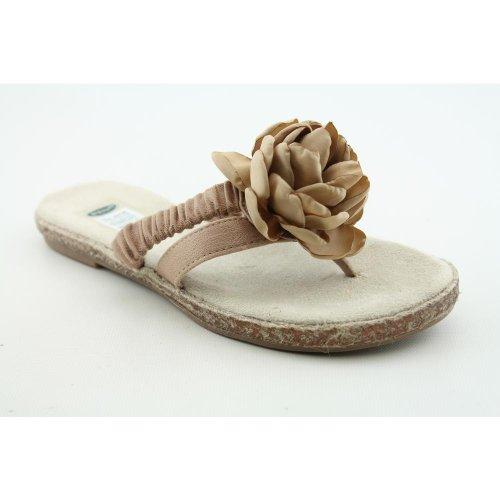 Dr. Scholl's Women's Iris Thong Sandals, Caravan Sand, 6.5 M/B