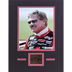 Terry Labonte Matted 8x10 Photograph with Autographed Cut Piece - Memories - Mounted... by Sports Memorabilia